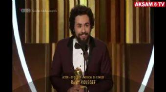 Altın Küre Kazanan Oyuncu, Sahnede 'Allahu Ekber' Sözleriyle Teşekkür Etti