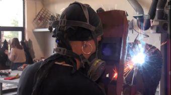 'Tornacı Mı Oldun' Diyenlere İnat Metalden Heykel Yapıyor