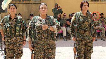 Türkiye'nin Karaçok'ta vurduğu YPG kampını inceleyen ABD'li subaylar, bu defa örgüt kampında görüntü