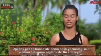 Gönüllüler takımından Denisa, adaya veda ederken Acunn.com'un sorularını yanıtladı.