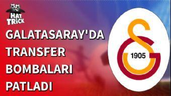 Galatasaray'da Transfer Bombaları Patladı