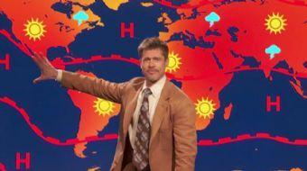 Ünlü ABD'li oyuncu Brad Pitt, Trump'In Paris İklim Anlaşması'ndan çekilmesini eleştiren bir skeçte o