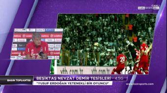Beşiktaş Teknik Direktörü Şenol Güneş basın toplantısında açıklamalarda bulundu.