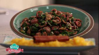 Yeşil Zeytin Piyazı Tarifi | Mutlu Kahvaltılar