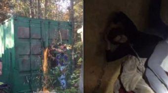 ABD'nin Güney Carolina eyaletinde bir konteyner içinde tutulan ve seks kölesi haline getirilen Kala