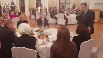 Sırbistan Cumhurbaşkanı Aleksandar Vuçiç'in daveti üzerine Sırbistan'da resmi temaslarda bulunan Cum