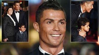 'Cristiano Ronaldo'nun galası yapıldı