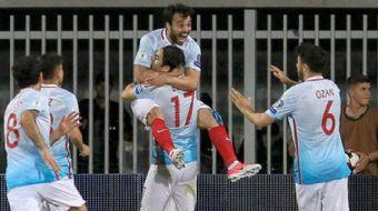 A Milli Futbol Takımı, 2018 FIFA Dünya Kupası Avrupa Elemeleri I Grubu'ndaki 6. maçında deplasmanda