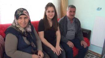 Mersin'in Silifke ilçesinde sürekli karnı guruldayan 17 yaşındaki lise son sınıf öğrencisi Nurgül Tu