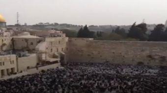 Hamursuz Bayramı bahane edilerek, sabah saatlerinde ve öğleden sonra 368 fanatik Yahudi, İsrail poli