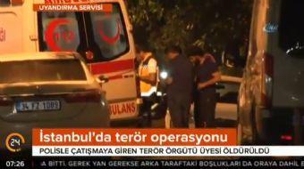 Kadıköy'de, Terörle Mücadele Şube Müdürlüğü ekipleri bir adrese operasyon düzenledi. Operasyon sıras