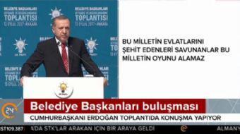 Cumhuraşkanı Recep Tayyip Erdoğan: Belediyelerimiz heykel değil, hizmete yönelik eserler diksinler