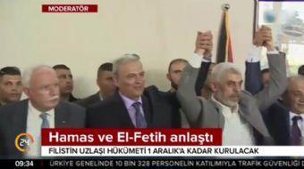 Hamas ve El Fetih 'Gazze' konusunda anlaştı