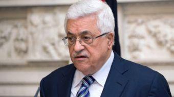 Kudüs Zirvesinde konuşma yapan Filistin Devlet Başkanı Mahmut Abbas İsrail zulmüne karşı Filistin'in
