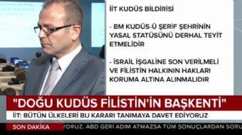 İslam Kalkınma Bankası'dan Filistin'e destek olması talep edildi