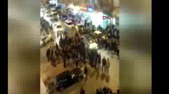 İstanbul Bahçelievler'de sevgilisiyle tartışan 21 yaşındaki saldırgan sokağa çıkıp önüne gelen ateş