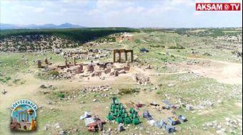 Büyük İskender Zamanından Kalma Antik Kent: Blaundus #Gökyüzünden