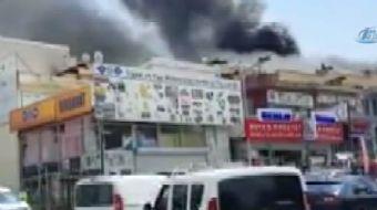 OSTİM'de bir işyerinde gaz sıkışması nedeniyle meydana gelen patlamada 3 kişi yaralandı.