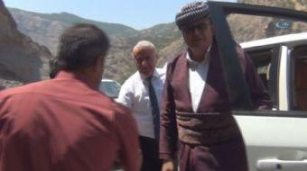 Irak Bölgesel Kürt Yönetimi Başkanı Mesud Barzani, kalp krizi sonucu hayatını kaybeden AK Parti Şırn