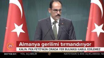 Cumhurbaşkanlığı Sözcüsü Kalın'dan  Cumhurbaşkanı Erdoğan- Trump görüşmesi açıklaması