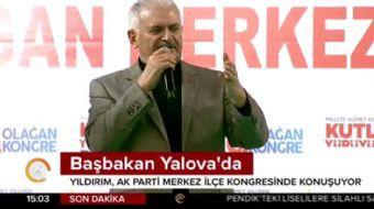 Başbakan Bşnali Yıldırım Yıldırım'dan: Özü sözü bir olan muhalefete Türkiye hasret kaldı
