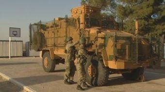 Köprübatı Sınır Karakolu askerleri, en son teknoloji ile 24 saat Suriye sınır hattını gözlüyor.