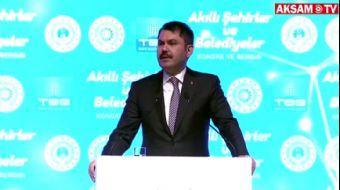 Bakan Kurum'dan Kanal İstanbul Açıklaması: Kararlılıkla Hayata Geçireceğiz