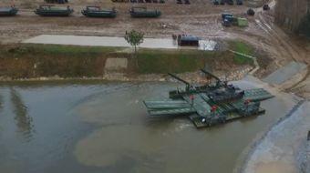 Kırklareli 55. Mekanize Piyade Tugay Komutanlığı Köprücü Taburu tarafından 197 personel ile 61 asker
