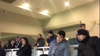 Polis Memurundan Örnek Davranış... Medipol Başakşehir - Beşiktaş Maçını Anbean Yaşattı