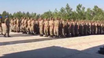Komandolar, Trabzon'da PKK'lı teröristler tarafından şehit edilen Eren Bülbül için 'İyi ki varsanı E