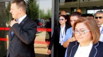 Estonya Başbakanı ve AB Dönem Başkanı Jüri Ratas, Gaziantep Büyükşehir Belediyesi'ni ziyaret etti