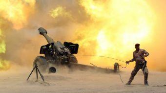 Irak ordusu terör örgütü DEAŞ'ın elindeki Telafer'e hava bombardımanının başladığını duyurdu.