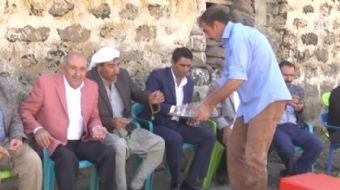 Diyarbak�r'daki a�iret temsilcileri, ter�r �rg�t� PKK'n�n b�lgedeki ter�r sald�r�lar�na tepki g�ster