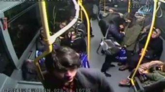 İlginç hırsızlık 25 Aralık Pazar akşamı Mecidiyeköy'den Gaziosmanpaşa'ya giden 55 sefer numaralı öze