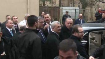 Cumhurbaşkanı Recep Tayyip Erdoğan, Kadir Mısıroğlu´nu tedavi gördüğü hastanede ziyaret etti