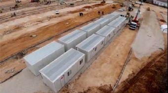 AFAD: 'Elazığ'da geçici konaklama merkezi kurulum çalışmaları aralıksız devam ediyor'