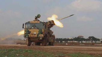 TSK'nın ÇNRA atışlarıyla Esed rejimi güçlerine karşılık verdi