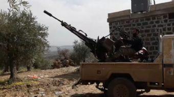 Türk Silahlı Kuvvetleri (TSK) ve Özgür Suriye Ordusunun (ÖSO) terörden temizlediği bölgelere doğru