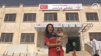 F�rat Kalkan� Harekat� kapsam�nda ter�r �rg�t� DEA�'ten temizlenen Cerablus'ta g�rev yapan Gaziantep