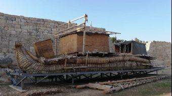 Antik Gemiyi Karadan Yürüttüler