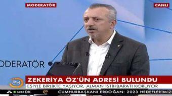 FETÖ'cü Zekeriya Öz'ün yaşadığı adresi deşifre eden AKŞAM Gazetesi Genel Yayın Yönetmeni Murat Kelki