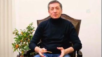 Milli Eğitim Bakanı Selçuk'tan Yarıyıl Tatiline İlişkin Videolu Paylaşım