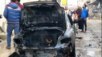 Tel Rıfat'ta Yuvalanan YPG/PKK'lı Teröristlerin Saldırısı Sonucu Azez'de 10 Sivil Yaralandı