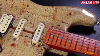 Erişteden Elektro Gitar Yaptı!
