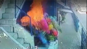Uyuyan Baloncuya 'Alevli Şaka' Az Kalsın Öldürüyordu