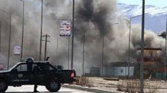 Afganistan'ın başkenti Kabil´de bir yabancı müteahhitlik firmasının bulunduğu binada meydana gelen p