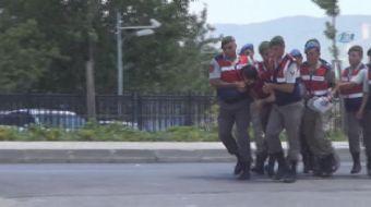 15 Temmuz 2016'da Cumhurbaşkanı Erdoğan'a yönelik suikast girişimi ve 2 polisin şehit  edildiği sald
