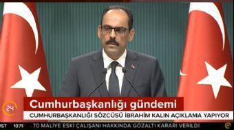 Cumhurbaşkanlığı Sözcüsü İbrahim Kalın'dan 'Türkiye Cumhurbaşkanı' spekülasyonlarına kritik açıklama