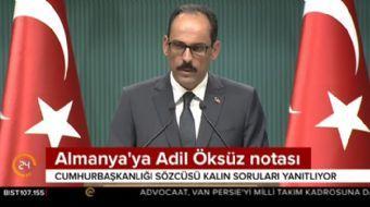 Cumhurbaşkanlığı Sözcüsü İbrahim Kalın'dan FETÖ'cü terörist  Adil Öksüz açıklaması!