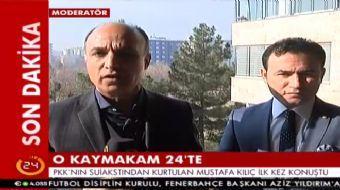 Diyarbakır'da, Kayapınar Kaymakamı'na suikastından kurtulan Kayapınar Belediye Başkanı Vekili Mustaf